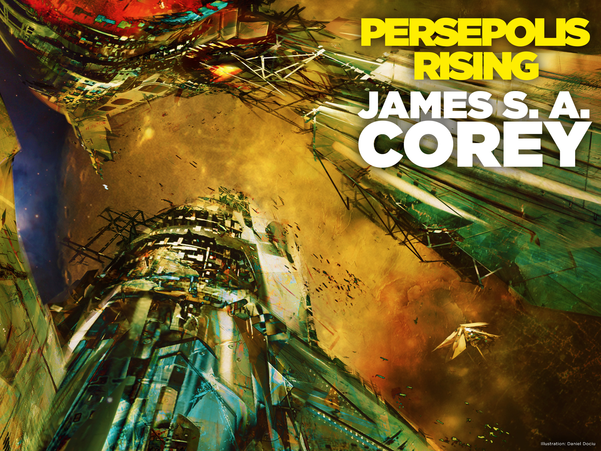 Cover Launch Persepolis Rising James S A Corey